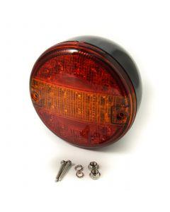 TT LED round rear lamp, 6-30v., 140mm dia.