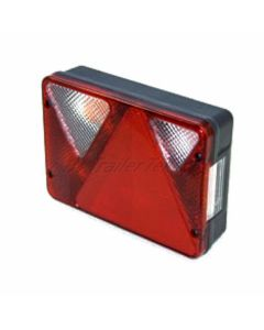 6 Function rear lamp with reverse LH. Quick Fit
