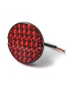 LED Autolamps round STOP/TAIL lamp, 12v-24v