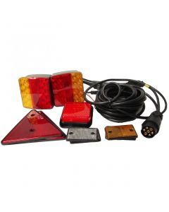 LED conversion kit for (O1) trailers with 6m. harness