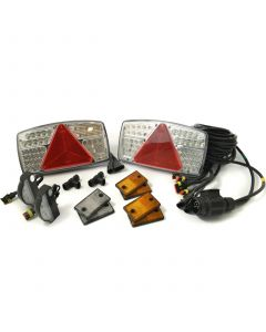 LED conversion kit for (O1 & O2) trailers with 8m. harness