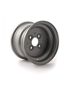 10 inch rim, 6J, 4 on 100mm. PCD for 20.5x8-10 tyres