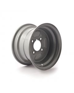"10 inch rim, 6J, 4 on 4"" PCD to fit 20.5x8-10 tyre"