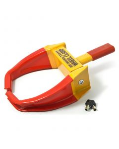 Universal budget wheel clamp