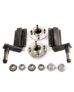 Peak 250 Kg. suspension kit, extended stubs & HUB180x2