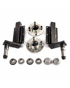Peak 350 Kg. suspension kit, extended stubs & HUB180x2