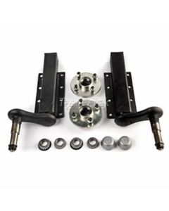 Peak 750 Kg. suspension kit, extended stubs with HUB180x2