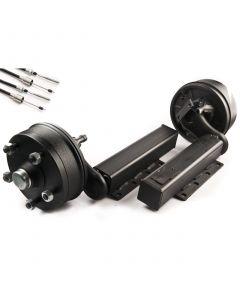 """Peak 1500 kg. braked suspension units 5 on 6.5"""""""