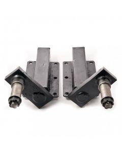 Peak 350 kg. suspension units, standard stub axle