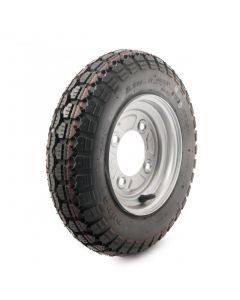 """3.50-8"""", 4 on 115mm. PCD wheel assembly"""