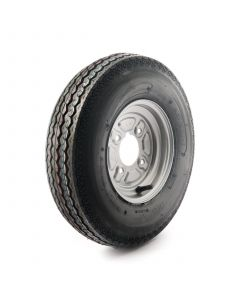 """4.80/4.00-8"""", 6 Ply Tubed, 4 on 4"""" PCD Wheel Assembly"""