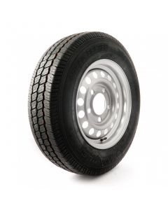 185/65 R14, 6 ply,  5 on 140mm PCD wheel assembly