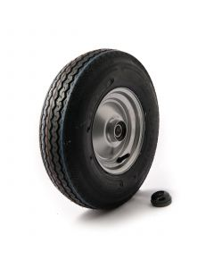 4.80/4.00x8, 4 ply, wheel assembly with 25mm. bearing