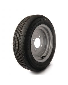 """140/70 R12, 4 on 5.5"""" PCD wheel assembly"""
