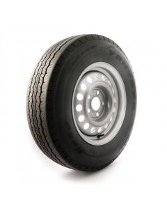175 R14 C, 8 ply, 5.5 J, 5 on 112mm. PCD wheel assembly