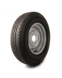 """155 R12 C, 8 ply, 4 on 4"""" PCD wheel assembly"""