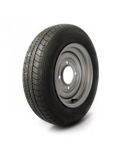 """145/80 R12, 4 ply, 4 on 5.5"""" PCD wheel assembly"""