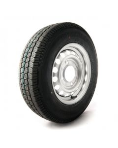 """145/80 R13, 4 ply, 4 on 5.5"""" PCD wheel assembly"""