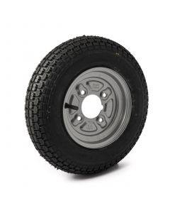 """3.50-8"""", 4 on 4"""" PCD wheel assembly"""