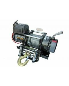 Warrior Ninja 4500 12V Electric Winch  w/ Steel Rope