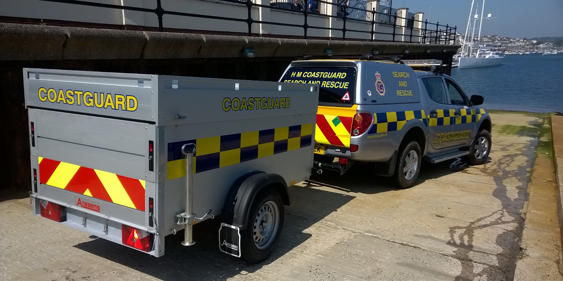TrailerTek provides 75 customised trailers for the Coastguard