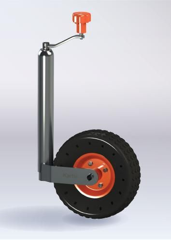 Smooth Jockey Wheel